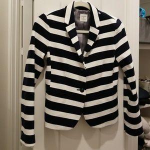 Striped Gap blazer